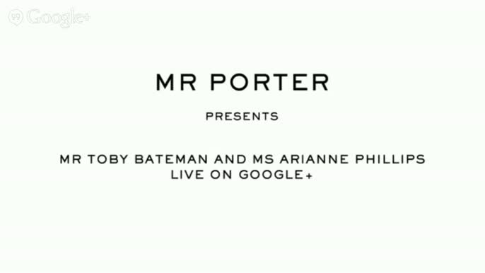KINGSMAN X MR PORTER Q&A with Ms Arianne Phillips - KINGSMAN X MR PORTER Q&A with Mr Toby Bateman and Ms Arianne Phillips